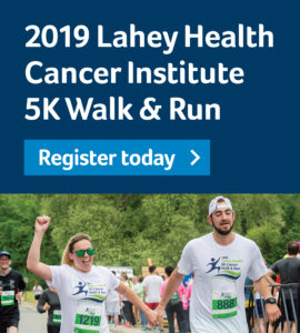 2019 Lahey Health Cancer Institute 5K Walk & Run