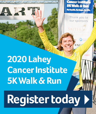 register for the virtual cancer 5K walk and run