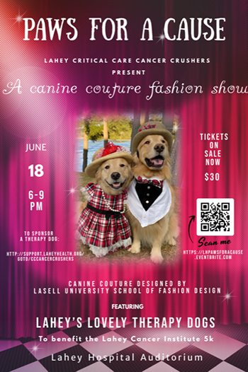 Paws For a Cause flyer